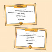 Aufgabenkarten zum Kopfrechnen