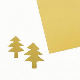Goldkarton, 50 x 70 cm, beidseitig kaschiert