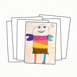 Zeichenblockpapier, DIN A2