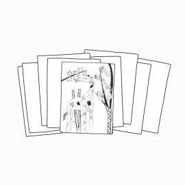 Zeichenkarton, DIN A2, 170 g/qm