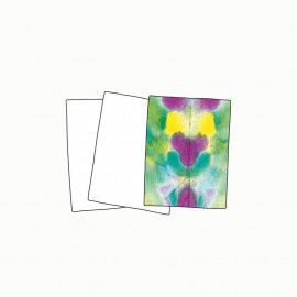 Batikpapier für die Papierbatik