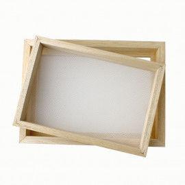 Papierschöpfrahmen zum Schöpfen von Papier