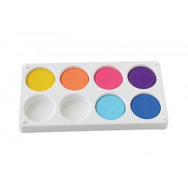 Puck-Palette für 8 Tempera-Pucks