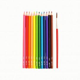 Wasservermalbare Stifte mit Pinsel