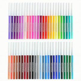 Fasermaler-Sortiment mit 50 Filzstiften in 50 fantastischen Farben