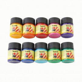Stoffmalfarbe von Marabu im 50 ml Glas
