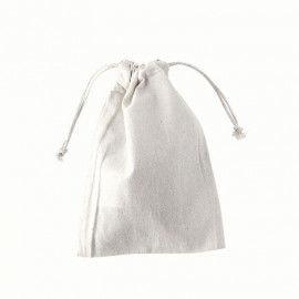 Weiße Baumwollsäckchen zum Bemalen & Färben