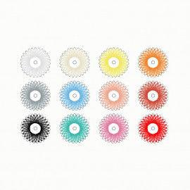 Sternzwirn-Sortiment, 12 Farben