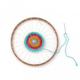 Rundwebrahmen zum Weben für Kinder