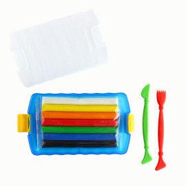 Knete-Sortiment mit Modellierwerkzeug und Aufbewahrungsbox