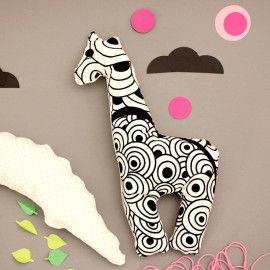 Giraffe nähen für Kinder