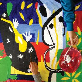 Henri Matisse - Die Trauer des Königs für den Kunstunterricht