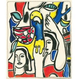 Fernand Léger - Les deux femmes au perroquet