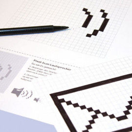 Pixel-Icons - Vorlagen zum Herunterladen