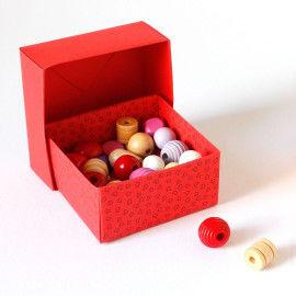 Faltanleitungen für Origami-Schachteln