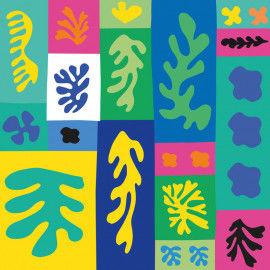 Collage aus Matisse Scherenschnitten