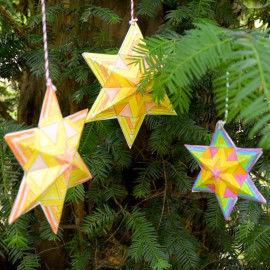 Penta-Sterne 3D-Sterne