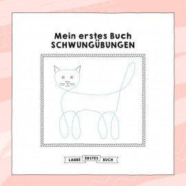 Vorlagen für ein eigenes Buch mit Schwungübungen für Kinder