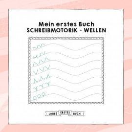 Druckvorlagen für ein Buch mit Schreibmotorik-Übungen für Kinder