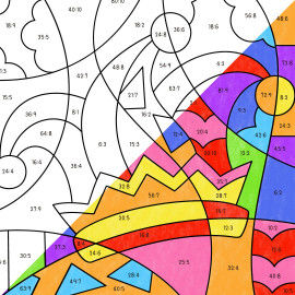Pop-Art – Mathe: Karneval und Fasching - Faschingsmütze