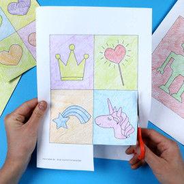 Andy Warhol Farbenbilder in unterschiedlicher Farbgestaltung