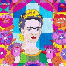 Frida Kahlo - Der Rahmen