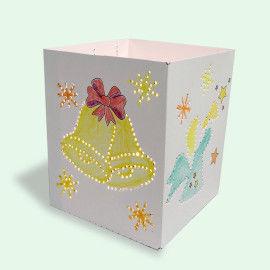 Engel und Glocken: Engel-Leuchten - Bastelvorlagen für Kinder