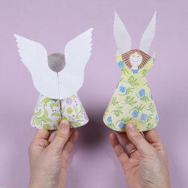 Vorder- und Rückseite der Engel