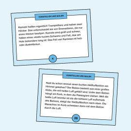 Aufgabenkarten zum Erkennen von Bücher-Genres