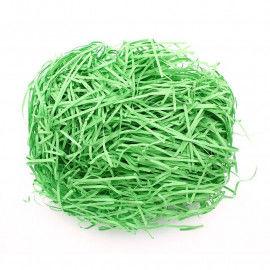 Grünes Ostergras aus Papierwolle