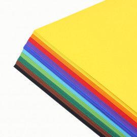 Buntes Tonpapier-Sortiment, 100 Bogen