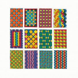 Verschiedene geometrische Muster