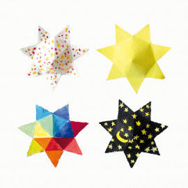 Dicke Sterne, 4 Stück