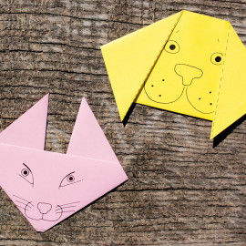 Kinder-Origami Tiere