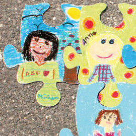 Ich & Wir Puzzle