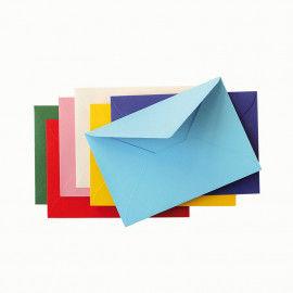 Briefhüllen, bunt
