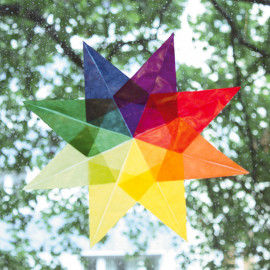 Regenbogen-Kreisel