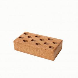 Scherenhalter aus Holz für 12 Scheren