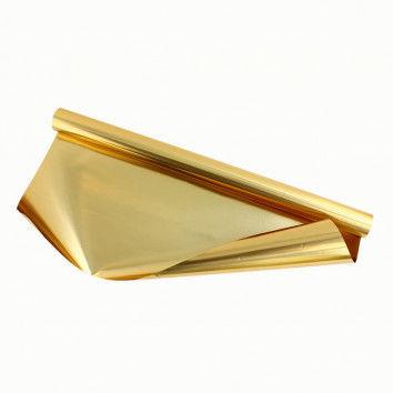 Beidseitig kaschierte Goldfolie - beidseitig gold