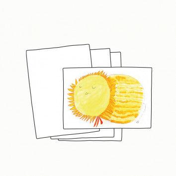 Weiße Malkarten, DIN A6