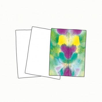 Batikpapier, 25 Blatt, DIN A4
