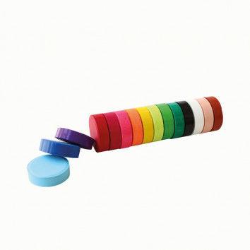 Preiswerte Tempera-Pucks in vielen tollen Farben