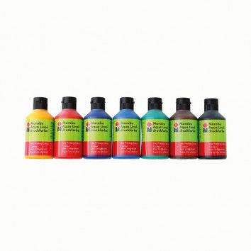 Linoldruckfarbe auf Wasserbasis