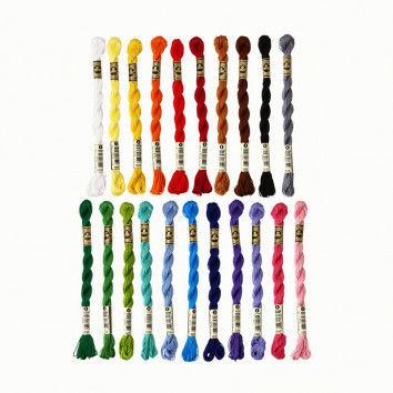 Stickgarn in vielen tollen Farben