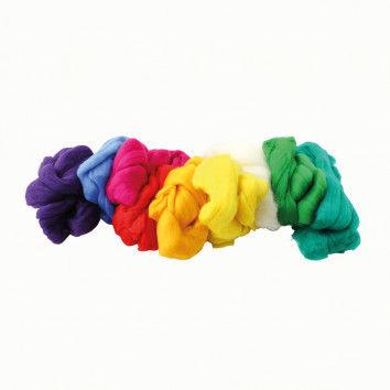 Märchenwolle aus Merino in 10 Farben