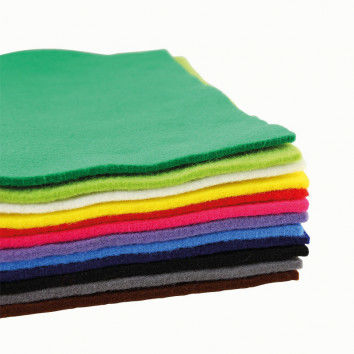 Extradicke Filzplatten in strahlenden Farben