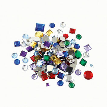 Schmucksteine Diamanten, ca. 800 Stück, farbsortiert