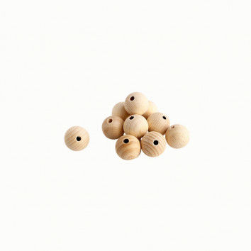 Holzkugeln, 20 mm, 10 Stück