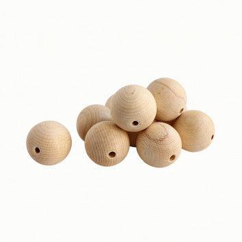 Holzkugeln zum Basteln, 50 mm