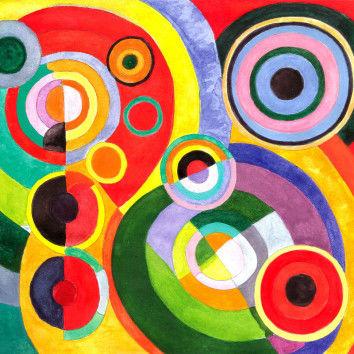 Rhythmus, Freude des Lebens nach Robert Delaunay